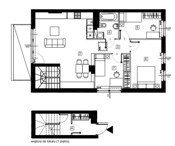 Mieszkanie czteropokojowe  na sprzedaż Marki, Wesoła  83m2 Foto 4