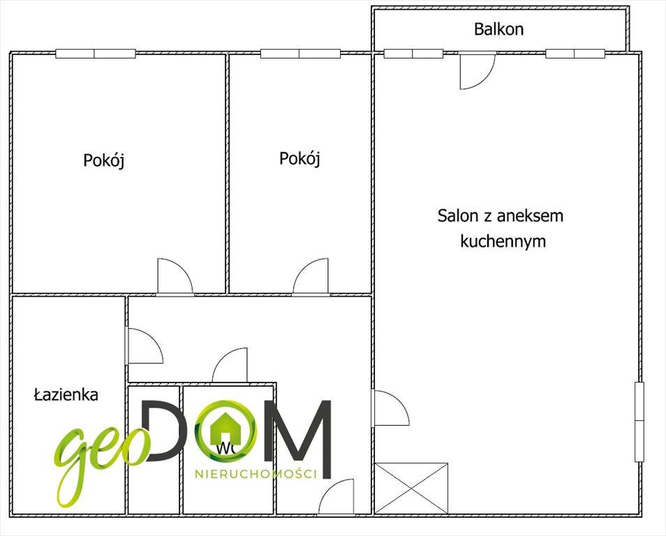 Mieszkanie trzypokojowe na sprzedaż Lublin, Bazylianówka  62m2 Foto 10