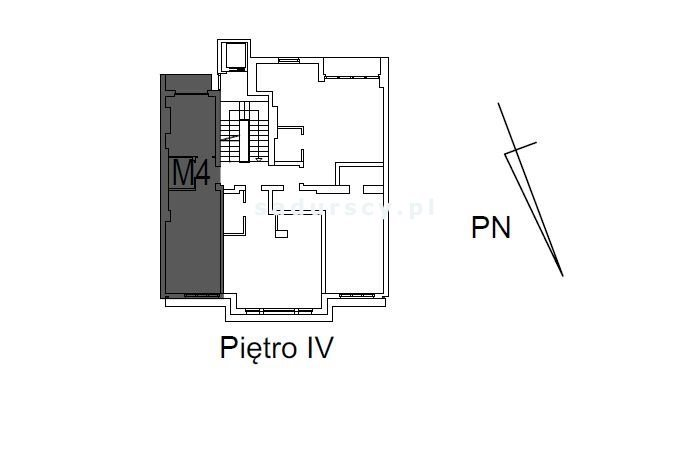 Mieszkanie dwupokojowe na sprzedaż Kraków, Śródmieście, Mazowiecka  38m2 Foto 4