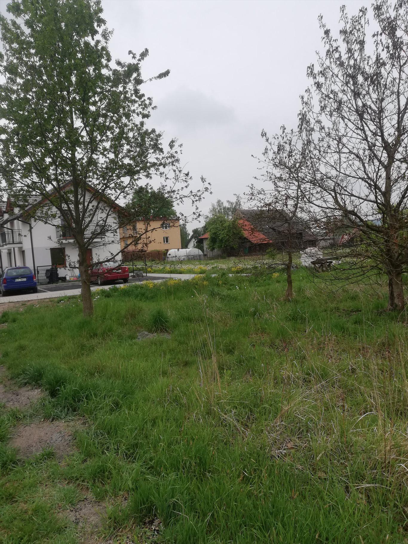Działka budowlana na sprzedaż Skawina, Wojska Polskiego  1811m2 Foto 1