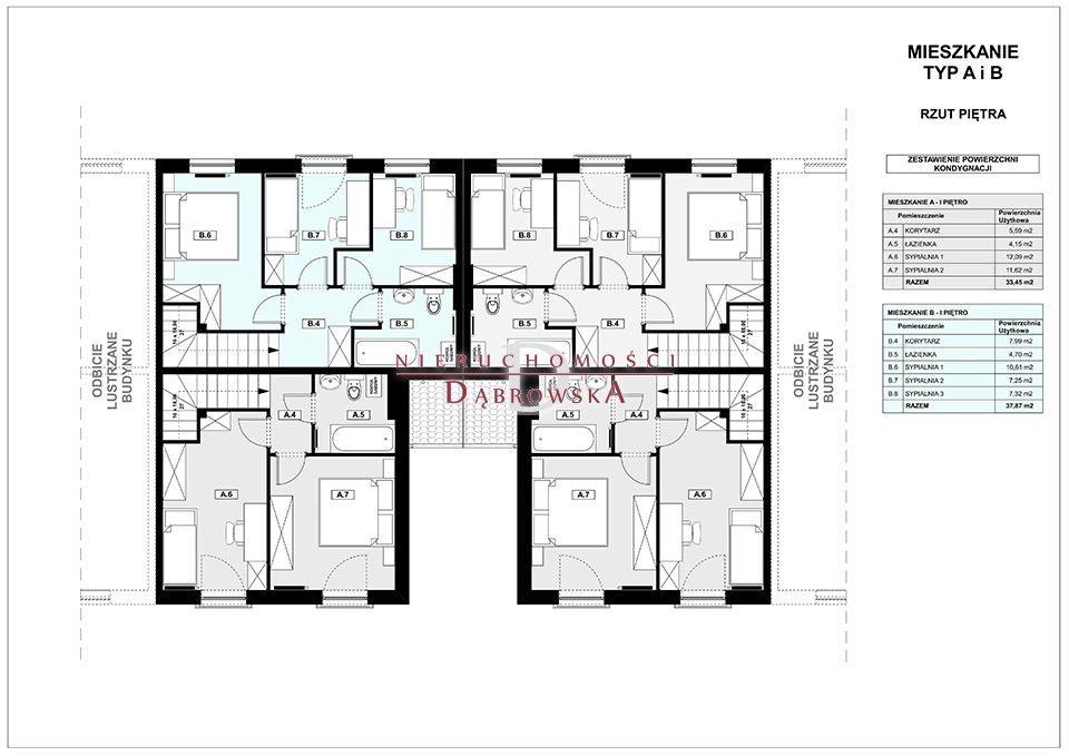 Mieszkanie czteropokojowe  na sprzedaż Czmoń  75m2 Foto 6