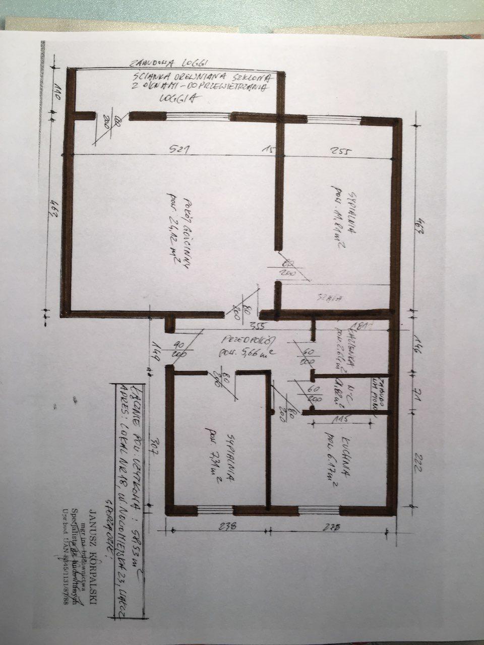 Mieszkanie trzypokojowe na sprzedaż Wałcz, Centrum, Nowomiejska 23  59m2 Foto 11