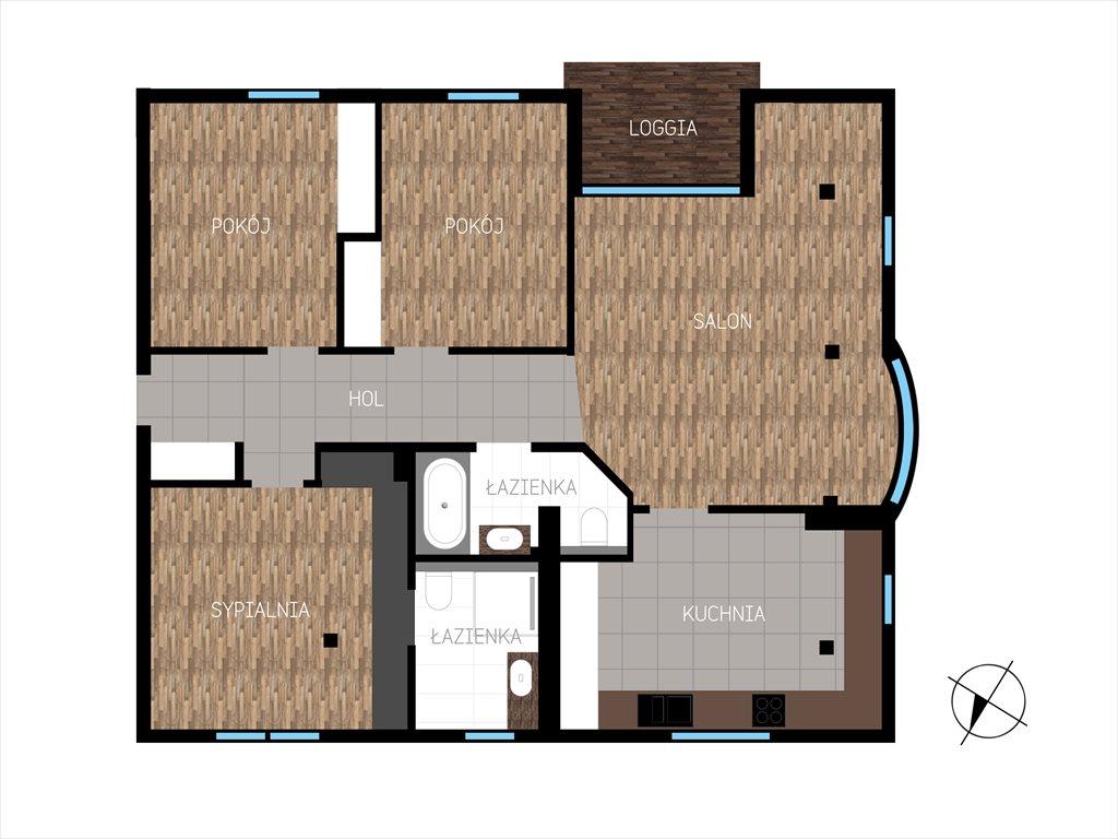 Mieszkanie czteropokojowe  na sprzedaż Warszawa, Wilanów, Łowcza  116m2 Foto 10