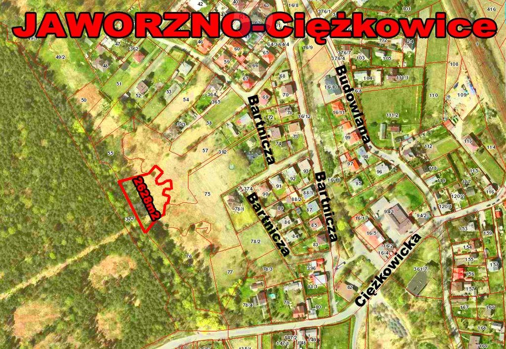 Działka rekreacyjna na sprzedaż Jaworzno, Ciężkowice  2628m2 Foto 1
