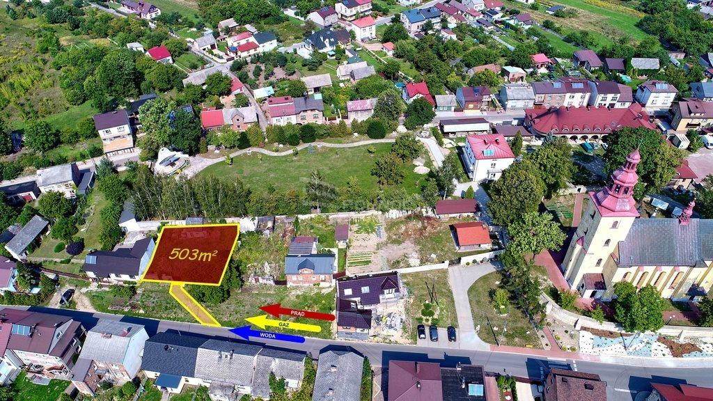 Działka budowlana na sprzedaż Myszków, Mrzygłód, Królowej Jadwigi  503m2 Foto 1