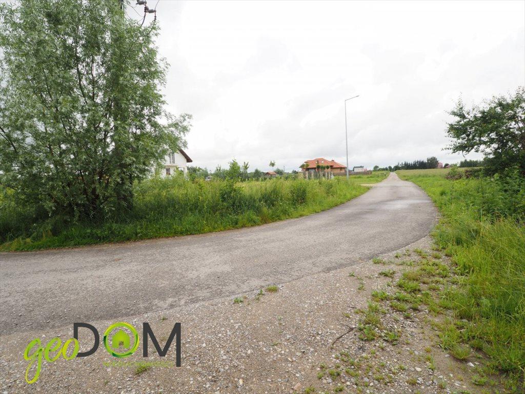 Działka budowlana na sprzedaż Okszów, Topolowa  681m2 Foto 1