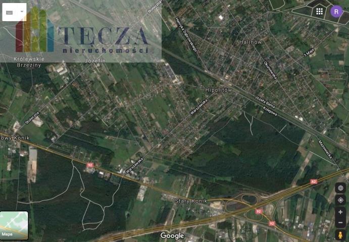 Działka inwestycyjna na sprzedaż Józefin, Stołeczna  4680m2 Foto 3