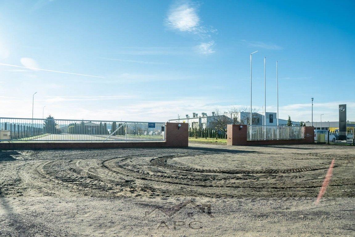 Działka przemysłowo-handlowa pod dzierżawę Leszno  4570m2 Foto 3