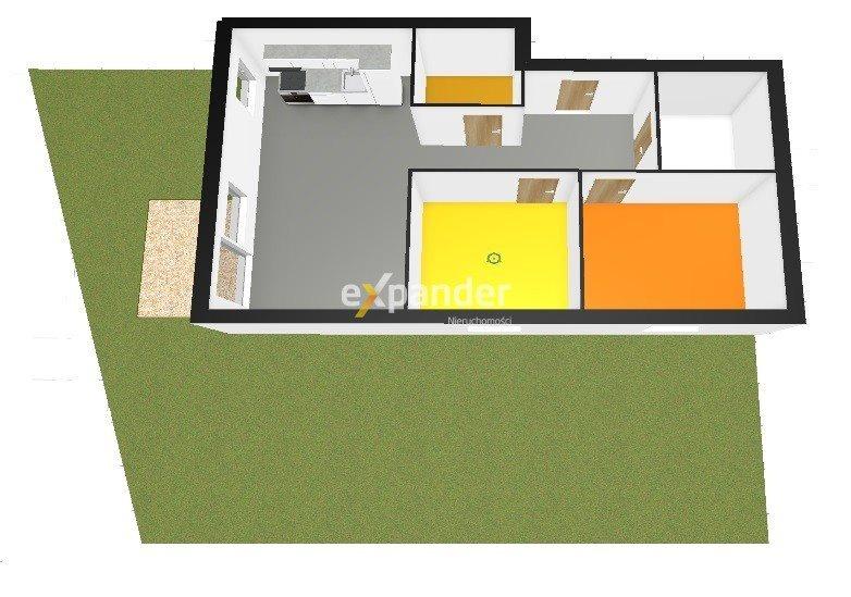 Mieszkanie trzypokojowe na sprzedaż Rotmanka, Zaczarowana  57m2 Foto 1