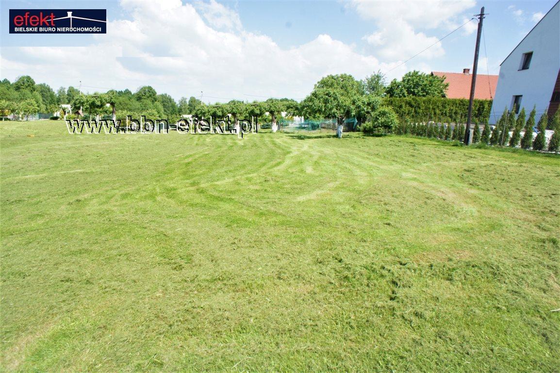 Działka budowlana na sprzedaż Bielsko-Biała, Hałcnów  1104m2 Foto 1