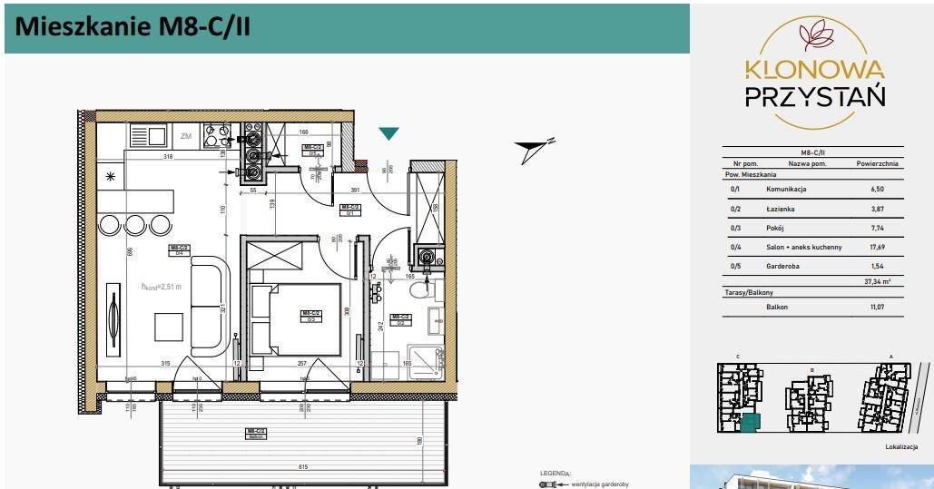 Mieszkanie dwupokojowe na sprzedaż Kielce, Uroczysko, Klonowa  37m2 Foto 5