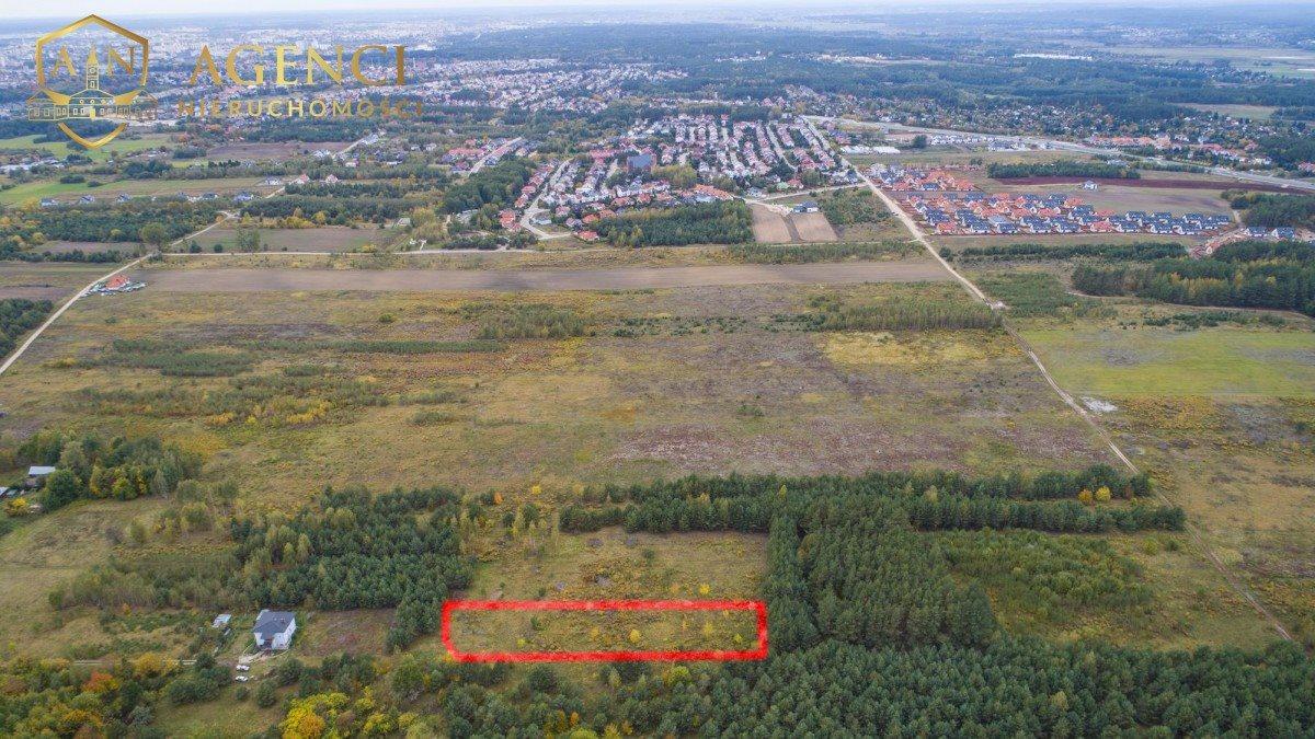 Działka budowlana na sprzedaż Białystok, Bagnówka  2404m2 Foto 1