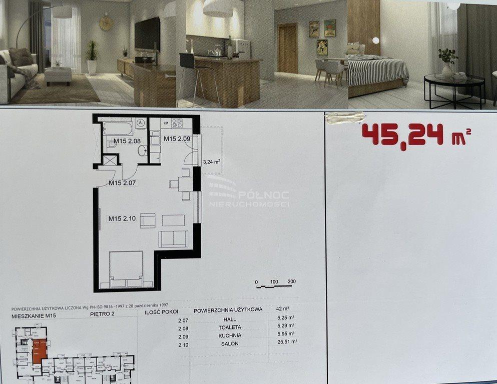 Mieszkanie dwupokojowe na sprzedaż Pabianice, Osiedle Bugaj  43m2 Foto 4