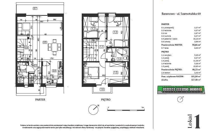 Dom na sprzedaż Baranowo, Szamotulska  102m2 Foto 3