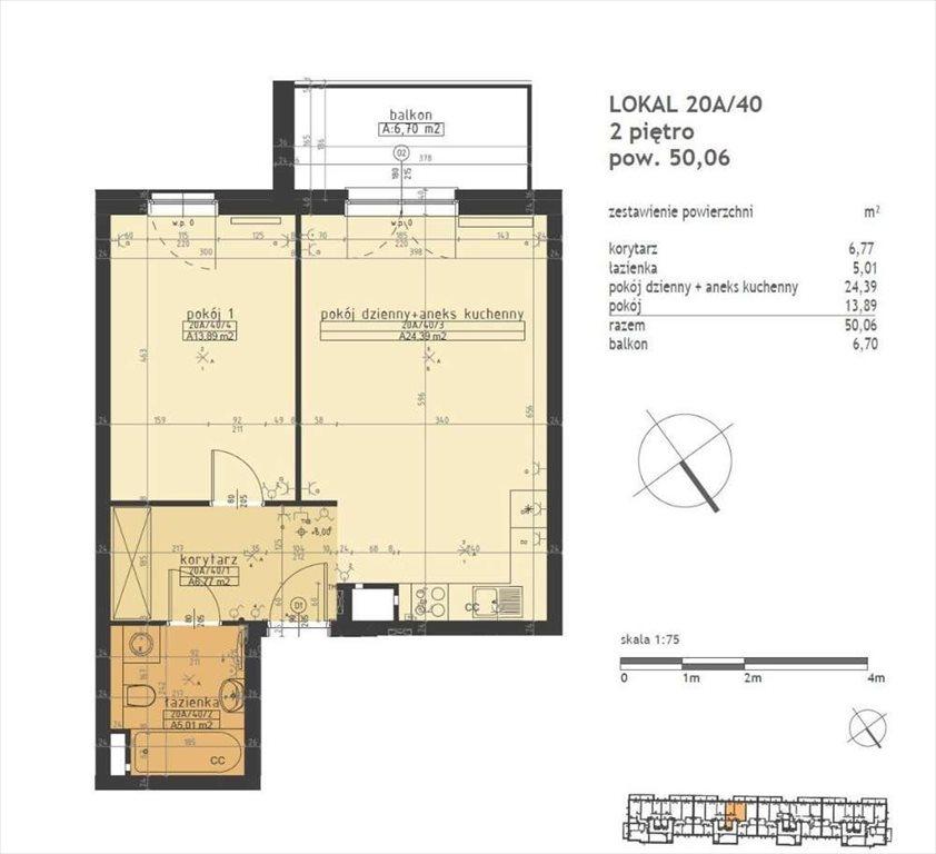 Mieszkanie dwupokojowe na sprzedaż Poznań, Stare Miasto, Winogrady  50m2 Foto 2