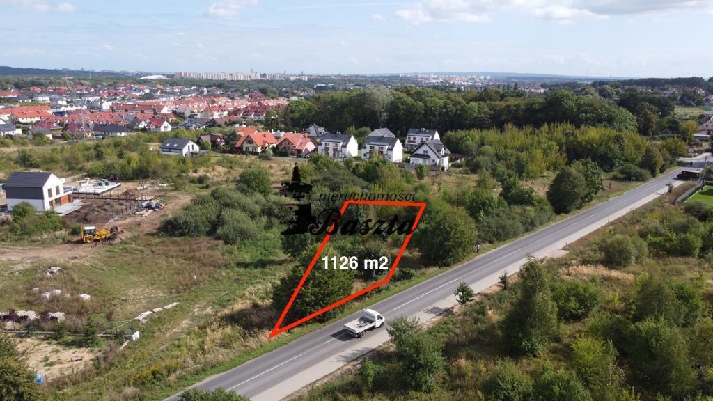 Działka budowlana na sprzedaż Szczecin, Bezrzecze  1126m2 Foto 1