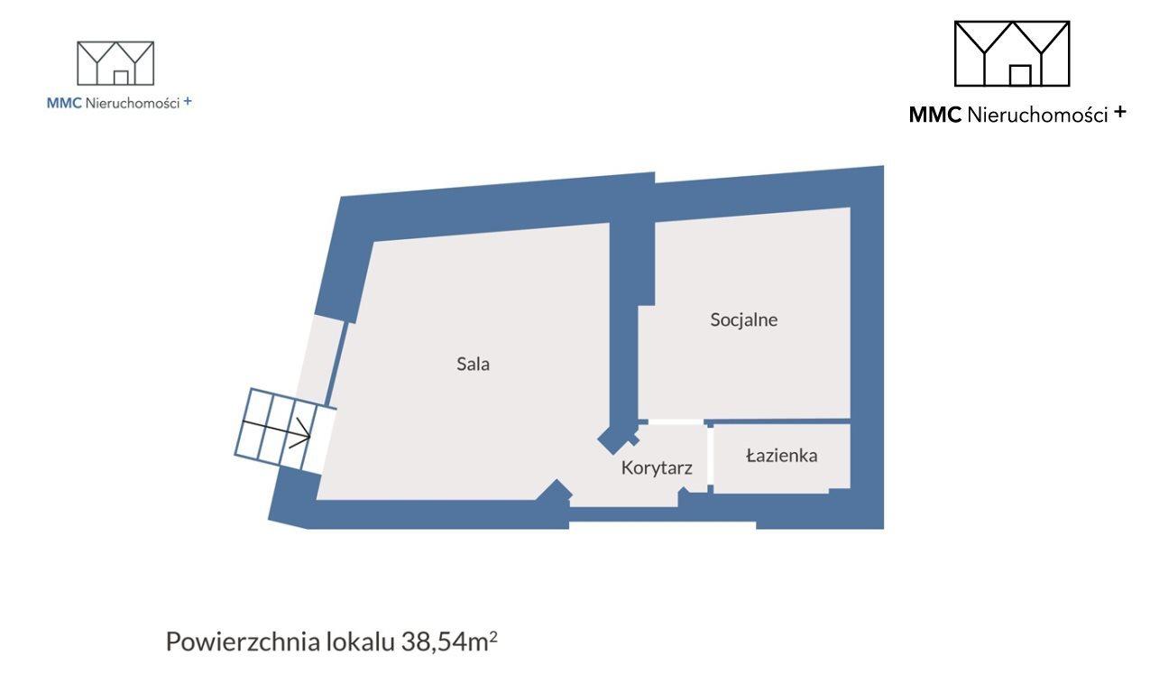 Lokal użytkowy na sprzedaż Bytom, Piłsudskiego  39m2 Foto 2