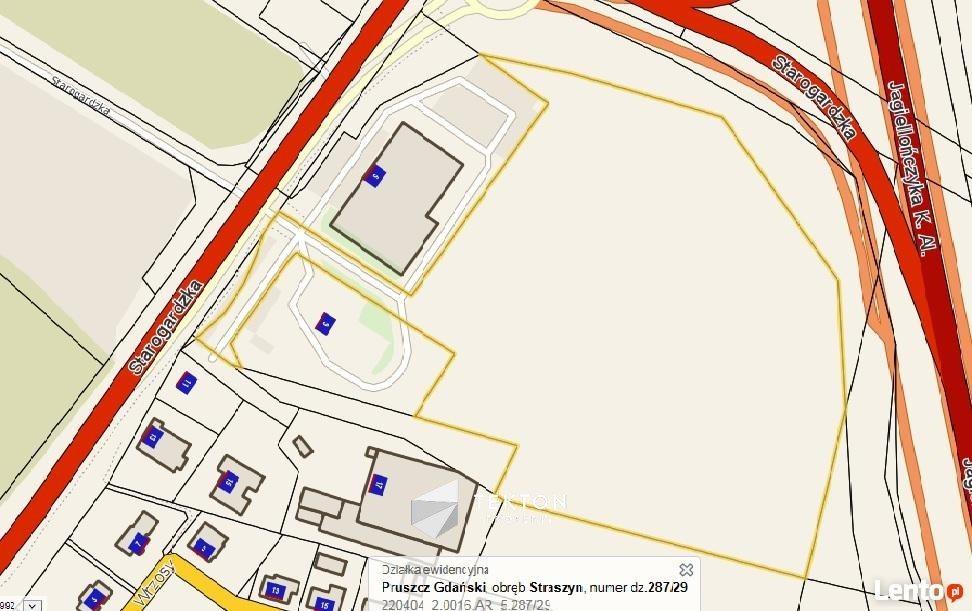 Działka inwestycyjna na sprzedaż Straszyn, Starogardzka  29384m2 Foto 3