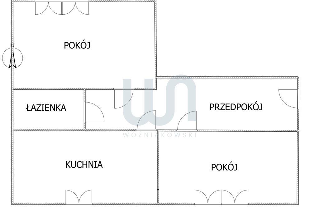Mieszkanie dwupokojowe na sprzedaż Częstochowa, Tysiąclecie  46m2 Foto 1