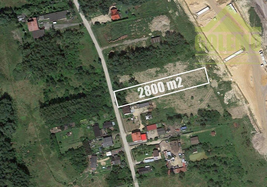 Działka budowlana na sprzedaż Walaszczyki  2800m2 Foto 1