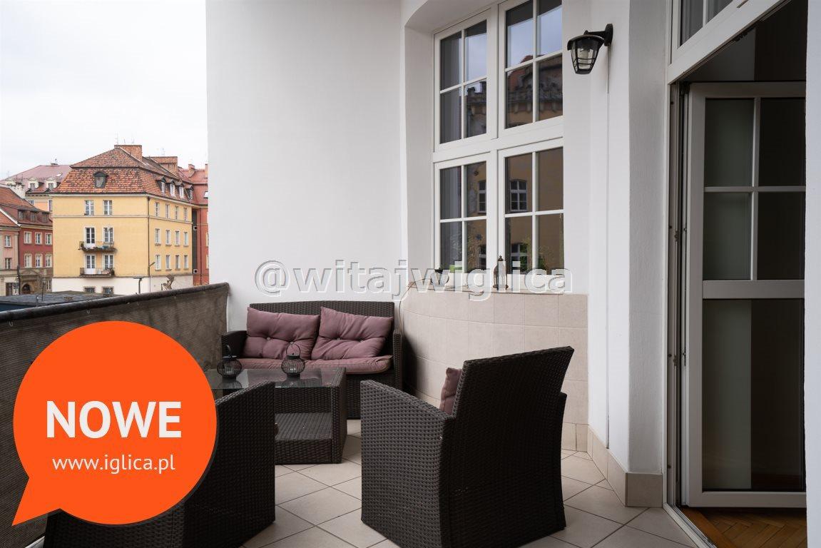 Mieszkanie trzypokojowe na wynajem Wrocław, Stare Miasto, Rynek  89m2 Foto 4