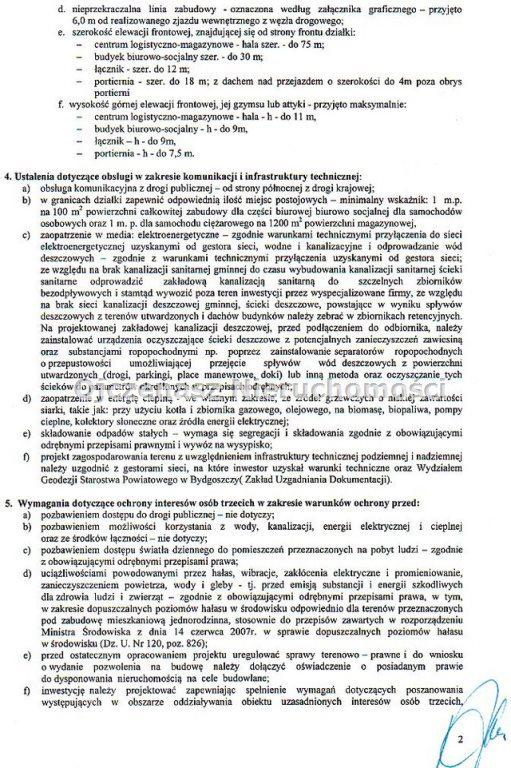 Działka inwestycyjna na sprzedaż Bydgoszcz  33420m2 Foto 3