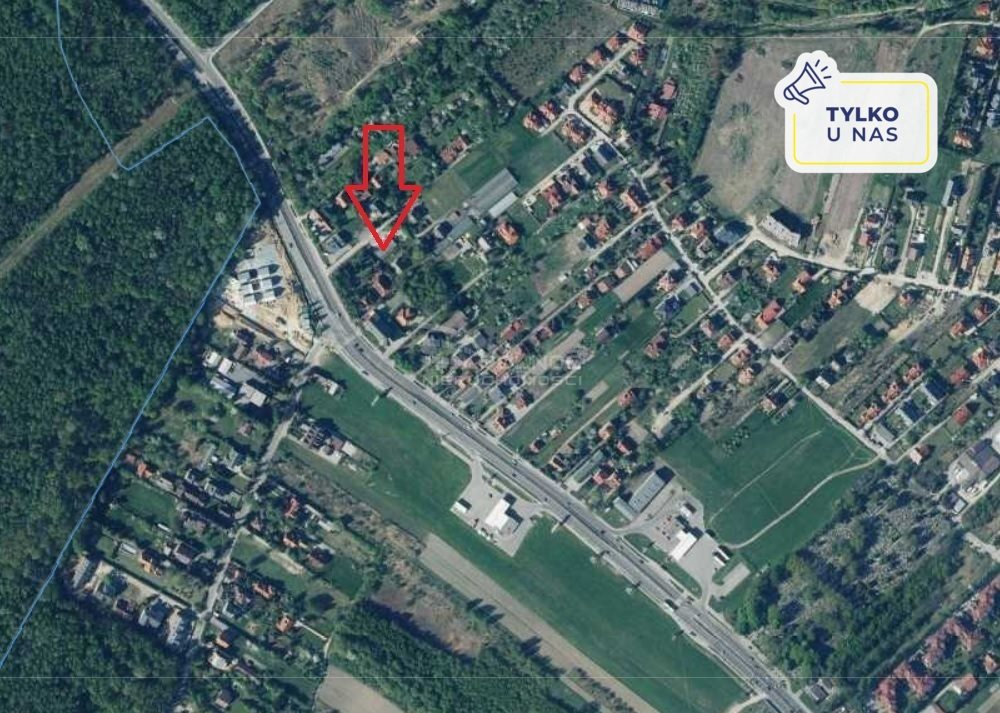 Działka budowlana pod dzierżawę Kraków, Bronowice  1123m2 Foto 1