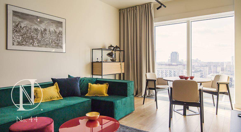 Luksusowe mieszkanie dwupokojowe na wynajem Warszawa, Śródmieście, Złota 44  62m2 Foto 2