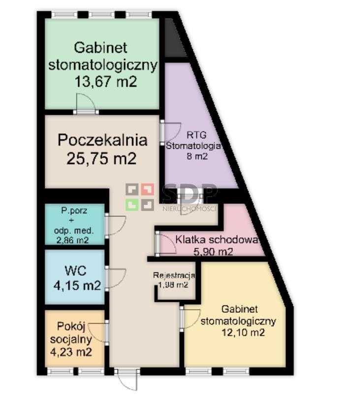 Lokal użytkowy na sprzedaż Wrocław, Krzyki, Wojszyce, Pawia  149m2 Foto 12