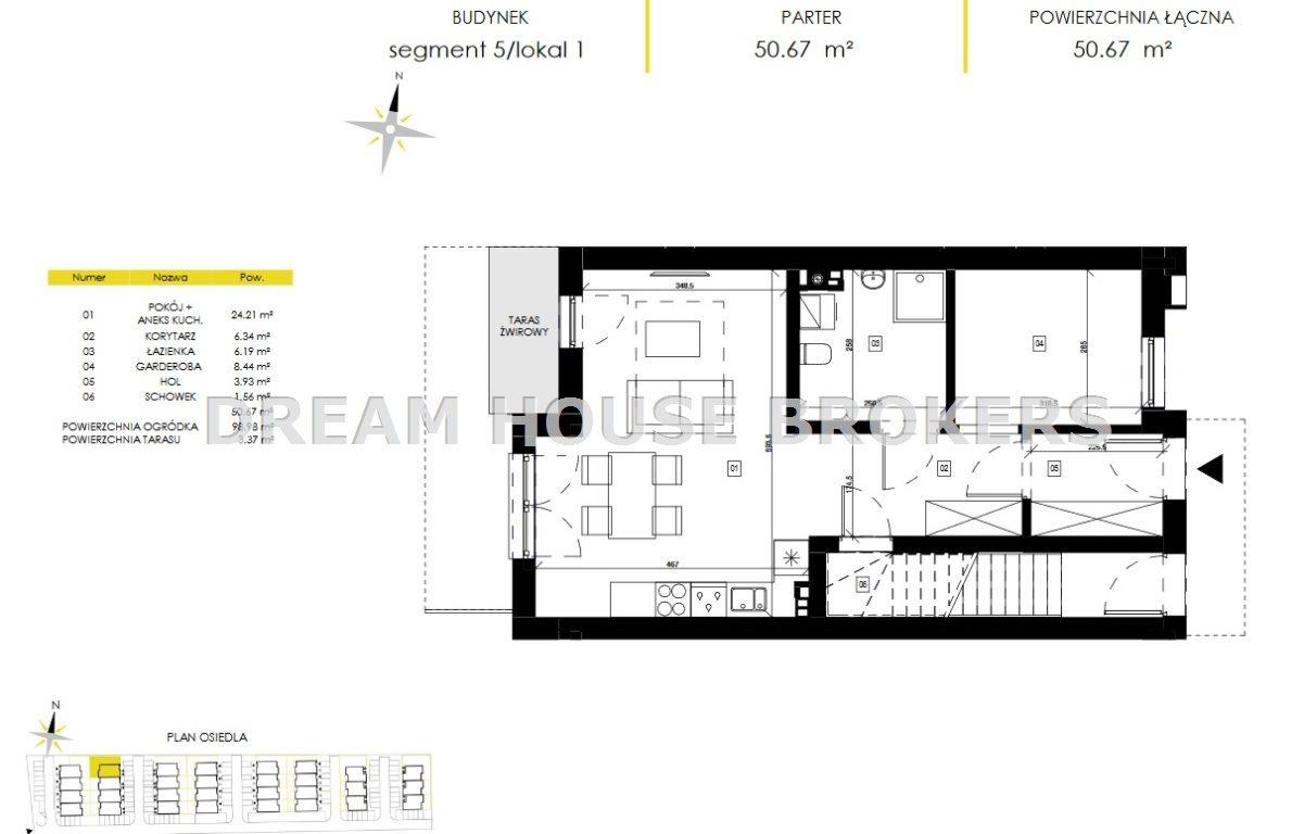 Mieszkanie trzypokojowe na sprzedaż Rzeszów, Biała, Świętojańska  51m2 Foto 3