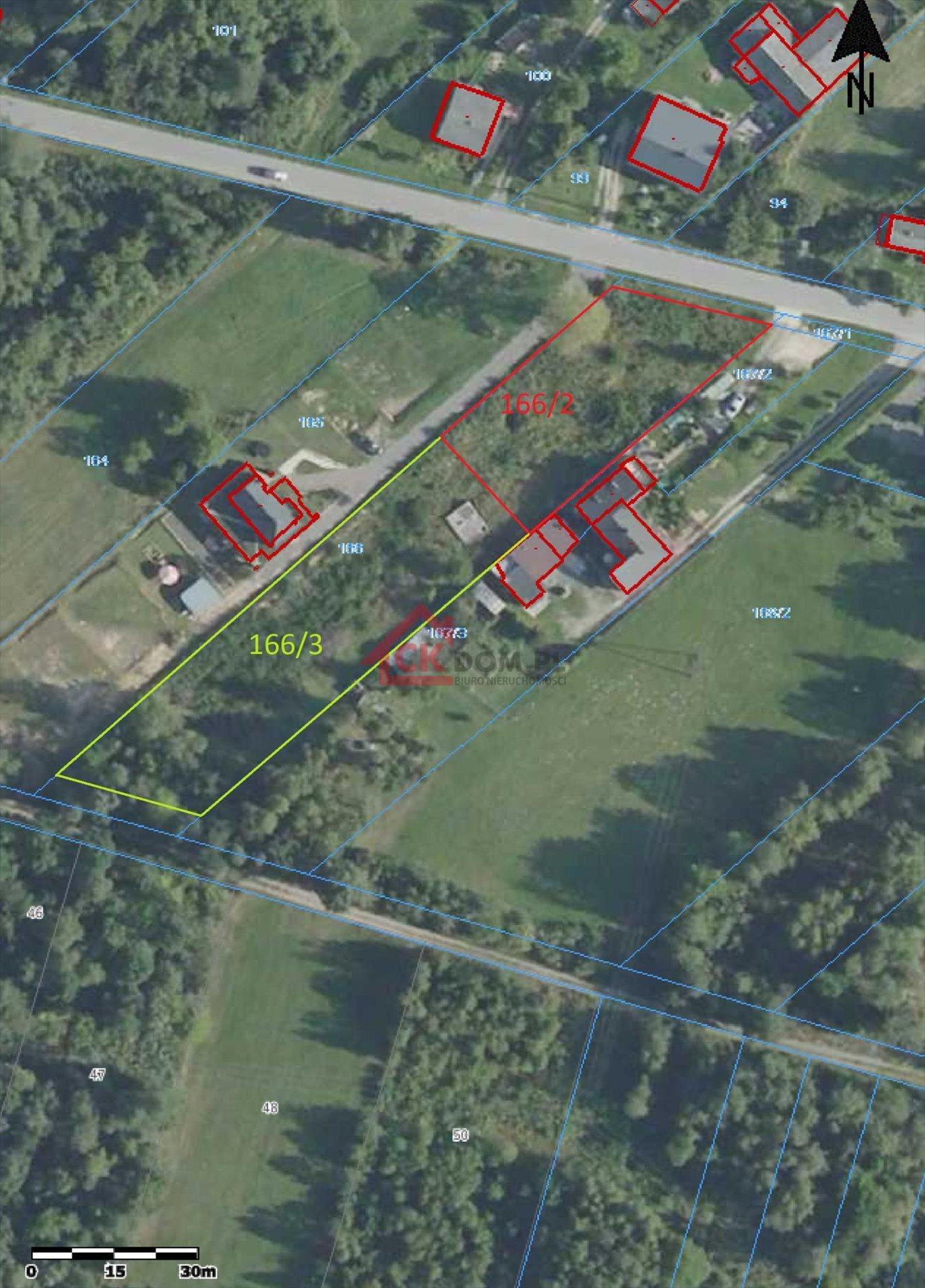 Działka budowlana na sprzedaż Mąchocice-Scholasteria  2002m2 Foto 1