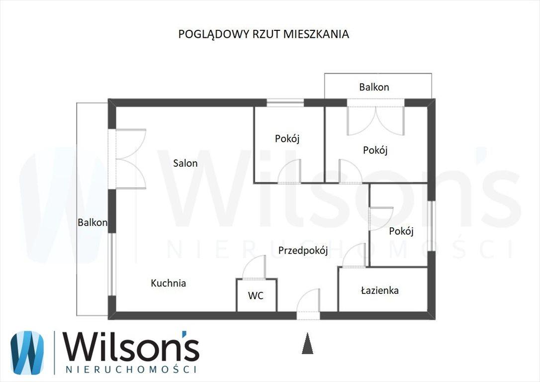 Mieszkanie czteropokojowe  na sprzedaż Jabłonna, Graniczna  81m2 Foto 6
