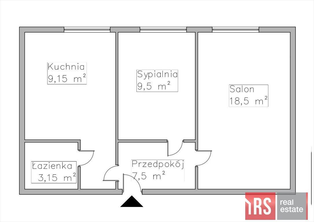 Mieszkanie dwupokojowe na sprzedaż Warszawa, Śródmieście, Krzywe Koło  47m2 Foto 1