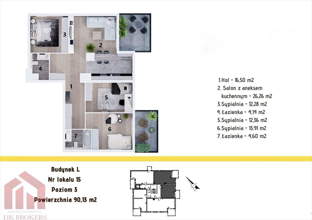 Mieszkanie czteropokojowe  na sprzedaż Rzeszów, Staroniwa, Staroniwska  90m2 Foto 2