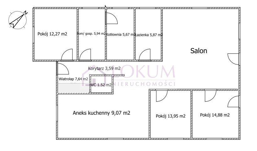 Dom na sprzedaż Majdan Krasieniński  126m2 Foto 3
