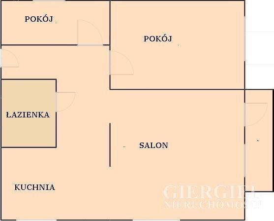 Mieszkanie trzypokojowe na wynajem Rzeszów, Lwowska  60m2 Foto 13
