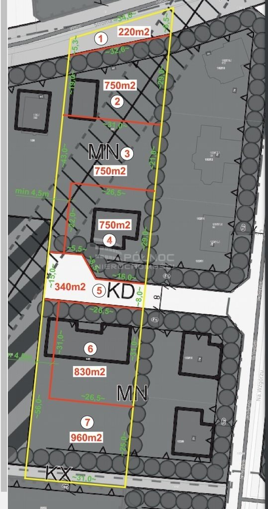 Działka budowlana na sprzedaż Jerzykowo, Stroma  960m2 Foto 11