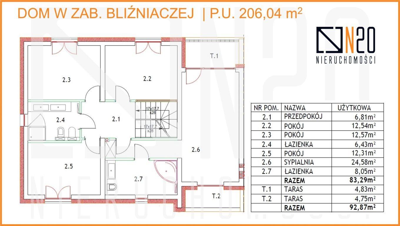 Dom na sprzedaż Kraków, Dębniki, Skotniki, Skotnicka - okolice  196m2 Foto 5