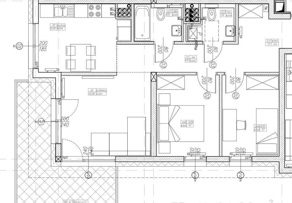 Mieszkanie trzypokojowe na sprzedaż Konstantynów Łódzki, ul. srebrzyńska  64m2 Foto 5