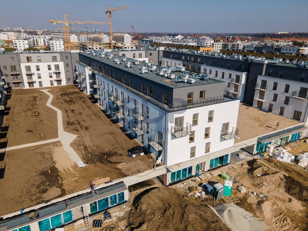 Mieszkanie trzypokojowe na sprzedaż Wrocław, Krzyki, Jagodno, Buforowa  50m2 Foto 3