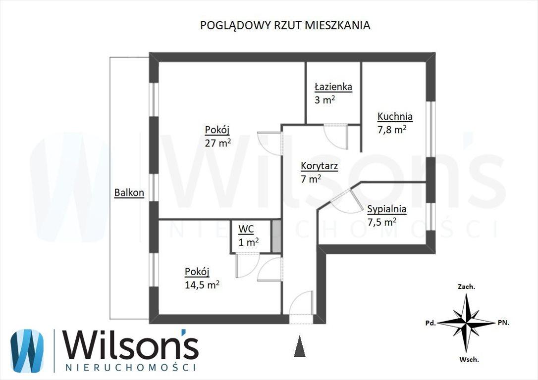 Mieszkanie trzypokojowe na sprzedaż Gdańsk, Przymorze, Rzeczypospolitej  70m2 Foto 6