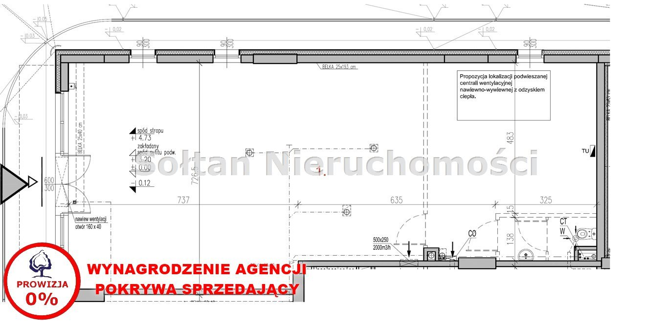 Lokal użytkowy na sprzedaż Warszawa, Targówek, Bródno, Kondratowicza  115m2 Foto 2
