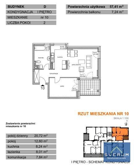 Mieszkanie dwupokojowe na sprzedaż Częstochowa, Parkitka, Bialska  57m2 Foto 2