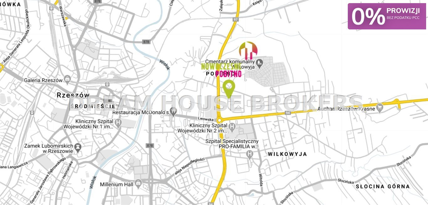 Mieszkanie czteropokojowe  na sprzedaż Rzeszów, Pobitno, Małopolska  65m2 Foto 6