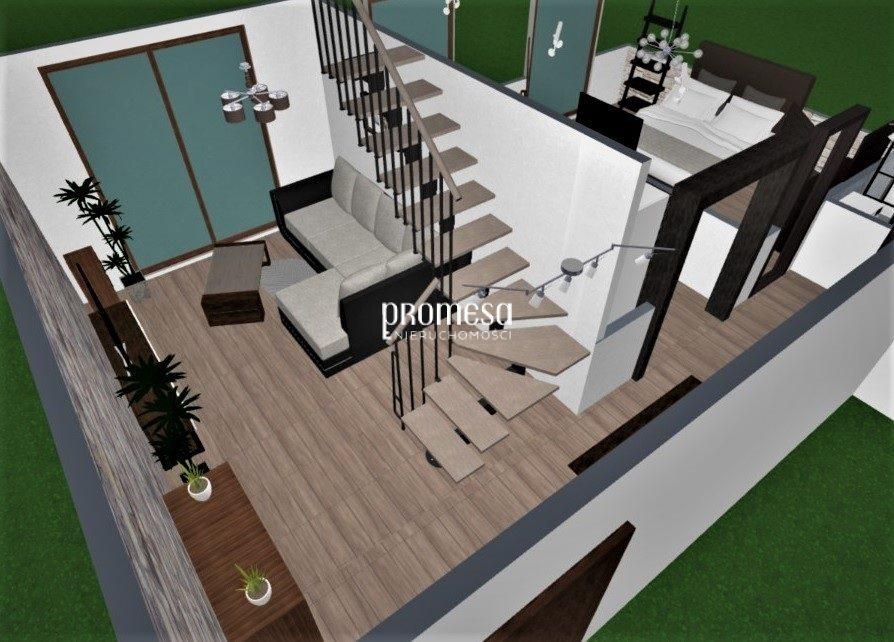 Mieszkanie trzypokojowe na sprzedaż Wrocław, Fabryczna, Leśnica  74m2 Foto 6