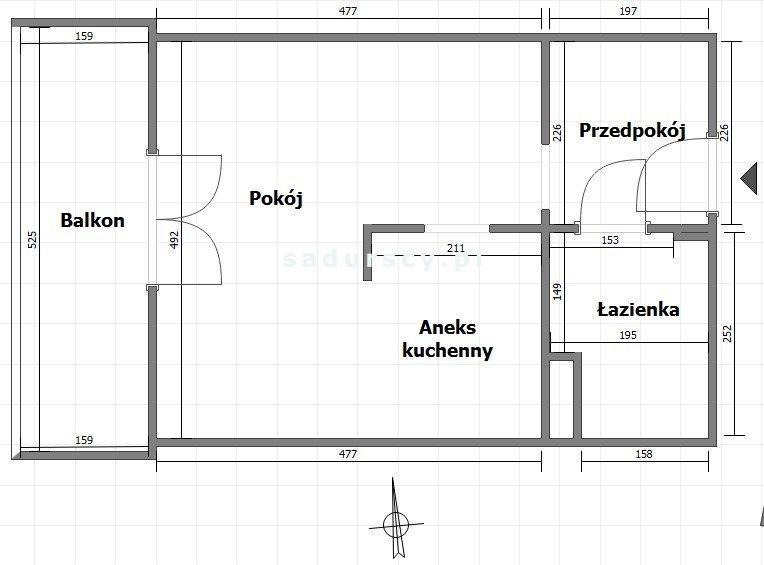 Kawalerka na sprzedaż Kraków, Bieżanów-Prokocim, Osiedle Złocień, Domagały  32m2 Foto 3
