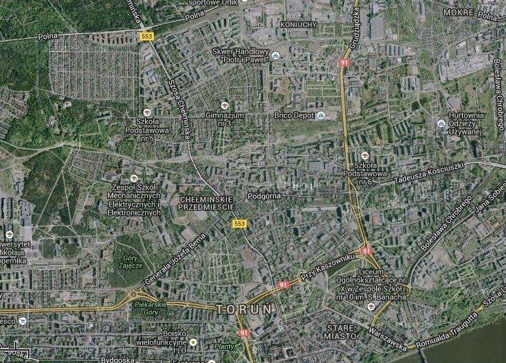 Działka inwestycyjna na sprzedaż Toruń, Chełmińskie Przedmieście  2150m2 Foto 1