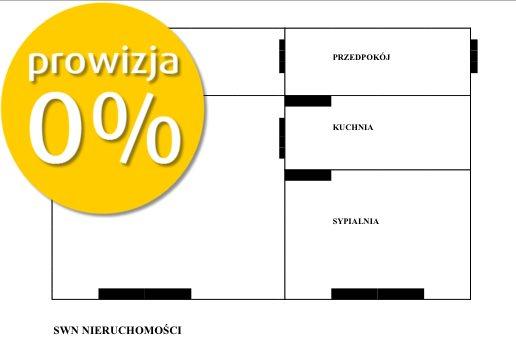 Mieszkanie dwupokojowe na sprzedaż Wrocław, Borek, Borek, Powstańców Śląskich  50m2 Foto 2