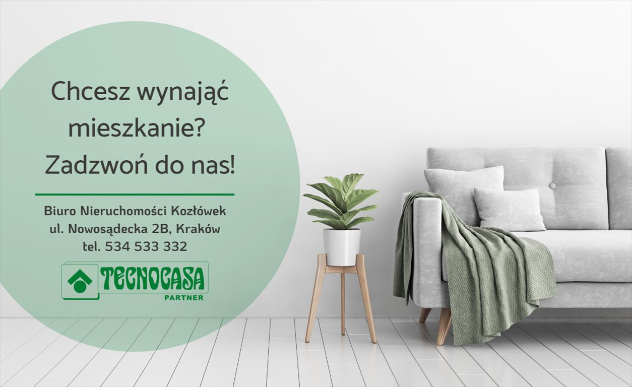 Mieszkanie dwupokojowe na wynajem Kraków, Bieżanów-Prokocim, Prokocim, Polonijna  39m2 Foto 8