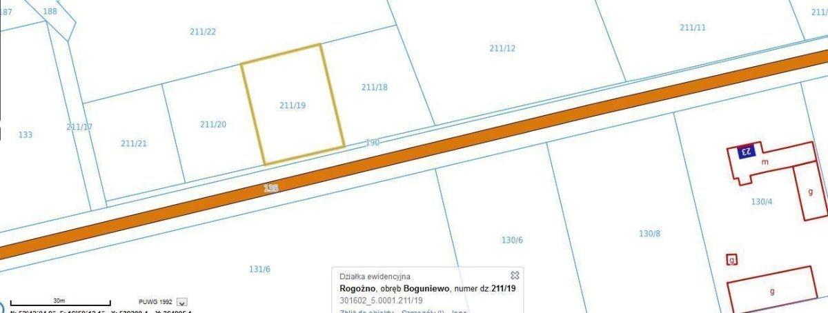 Działka budowlana na sprzedaż Boguniewo, Boguniewo  776m2 Foto 2